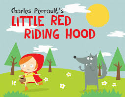 red riding hood book covers behance