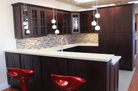 Kitchen Cabinets Mahogany Cabinet Color And Granite Precious Home Design