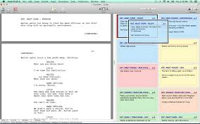 Movie Shot List Template Screenwriting Product Review Final Draft 9 Screenwriting Software