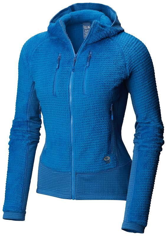 Mountain Hardwear Monkey Woman Grid Hooded Jacket Prism Blue XS 1792951453-XS