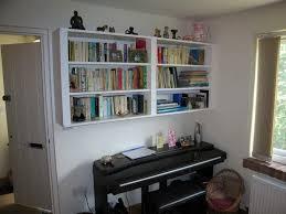 Hanging Bookshelves Ikea by Wall Mounted Shelves In Oak Wall Mounted Shelves In Kitchen Wall
