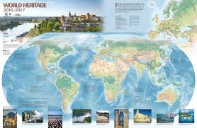 Pictures Of World Map by World Heritage Centre World Heritage Map