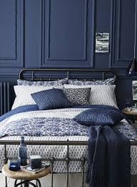 indigo home accessories navy blue bedrooms blue bedrooms and