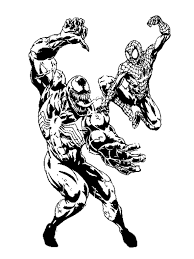 free coloring pages of venom agent venom coloring pages venom