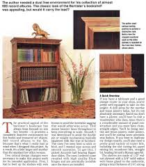 Free Wooden Bookcase Plans by Barristers Bookcase Plans U2022 Woodarchivist