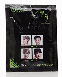 Shampoo For Black Colored Hair Bags Permanent Black Hair Dye Color Hair Blackening Shampoo For