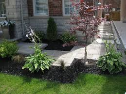 landscape ideas for front yard flower beds the garden