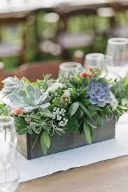 Table Flower Arrangements Best 25 Succulent Wedding Centerpieces Ideas On Pinterest
