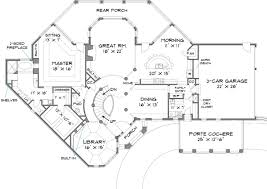 colonial house plan with 4 bedrooms and 3 5 baths plan 6001