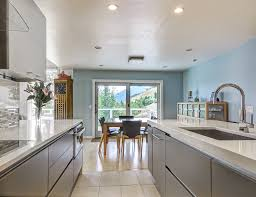 kitchen small kitchen remodeling ideas with soft blue wall color
