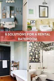25 best rental bathroom ideas on pinterest small rental you can do it 10 rental updates your landlord doesn t need to know