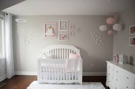 pink and gray baby nursery tour u2014 oh she glows