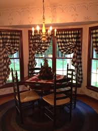 Country Living Room Curtains Kitchen Nook I Especially Love The Rug And The Way The Curtains