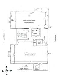 Community Center Floor Plans Earl Heck Community Center Human Services Englewood Oh