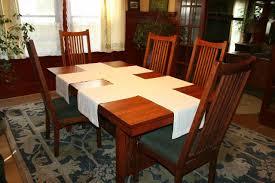 laurelhurst craftsman bungalow dining room table runners