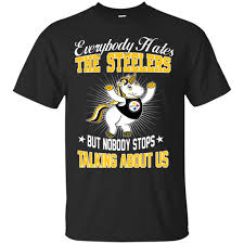 nobody stops talking about us pittsburgh steelers t shirt u2013 best
