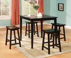 Kitchen Table Bar Style Minimalist Dining Room Spaces With Pub Style Dining Sets And Small