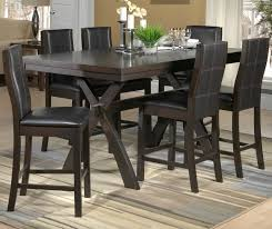 Grethell Piece PubHeight Dining Room Set Espresso Leons - Kitchen table sets canada
