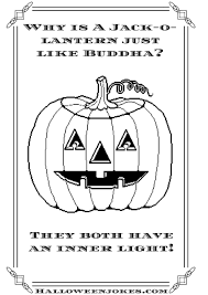 black and white halloween joke cartoon pumpkin cpal