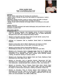 Job Resume Chef by Duties Of A Executive Chef Cms Templates Wordpress Templates Daily