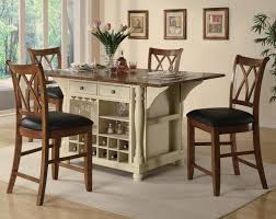 kitchen fabulous small kitchen table with open storage below and