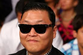 Singer PSY attends the Ishe Smith and Carlos Molina IBF junior middleweight title fight at the MGM Grand Garden Arena on September 14, ... - Floyd%2BMayweather%2BJr%2Bv%2BCanelo%2BAlvarez%2BUYoXZgzaiJel