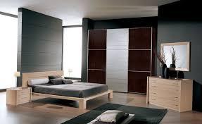 Modern Bedroom Set Dark Wood Bedroom Beautiful Black White Glass Wood Mcool Design Modern