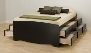 King Platform Bed Frame With Drawers Plans by King Platform Bed With Drawers For Your Bedroom Modern King Beds
