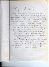 My Family Essay For Kids
