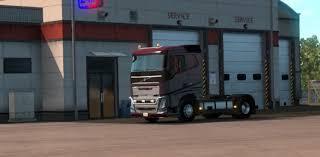 american volvo trucks volvo fh16 2012 v 2 1 for 1 2 truck american truck simulator
