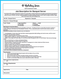 Example Server Resume by Server Resume Objective Samples