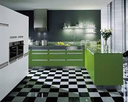 kitchen modern kitchen design with green kitchen cabinet and