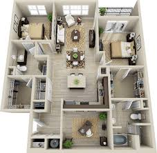 Floor Plan 2 Bedroom Apartment Best 25 Condo Floor Plans Ideas Only On Pinterest Sims 4 Houses