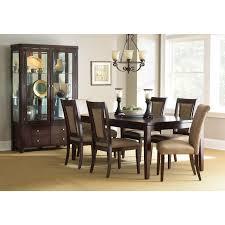 Steve Silver Dining Room Furniture Steve Silver Wilson 7 Piece Dining Table Set Merlot Cherry