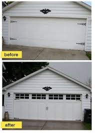 Graves Garage Doors by Replaced Old Recessed Panel Doors With New Haas Model 670 Steel