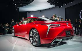 lexus coupe lc 500 new and stunning lexus lc 500 debuted at naias 2016