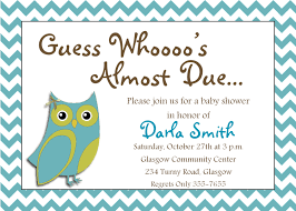 Invite Cards Template Invitation Cards For Baby Shower
