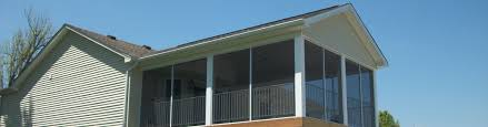 Screen Porch Roof by Screened Porches In Louisville Ky Enterprise Home Improvements
