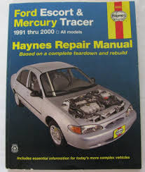 haynes service repair manual 36020 ford escort u0026 mercury tracer