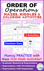 4th Grade Order Of Operations Worksheets Best 25 Numerical Expression Ideas On Pinterest Algebra Help