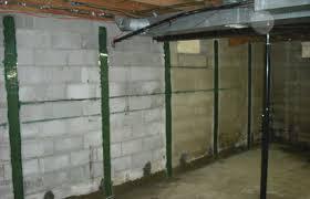 wall repair services bowed basement wall repair holland mi