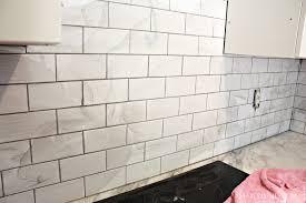Cream Subway Tile Backsplash by Subway Tilesplash Beveled Edge Glass Cost Installation Diy