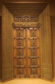 Kerala Style Home Front Door Design by Antique Wooden Carved Door Intricate India Pinterest Doors
