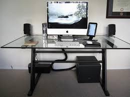 furniture modern home office design with imac computer desk idea