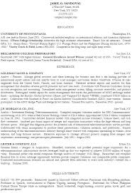 Best College Resumes by Example Resume With Gpa Included Templates