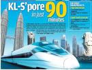 Malaysia-Singapore High-speed Rail Link | Lankasia Horizon