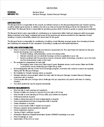 Example Server Resume by 28 Banquet Server Resume Sample Pin Banquet Server Resume