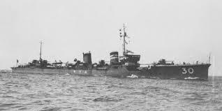 Japanese destroyer Mutsuki