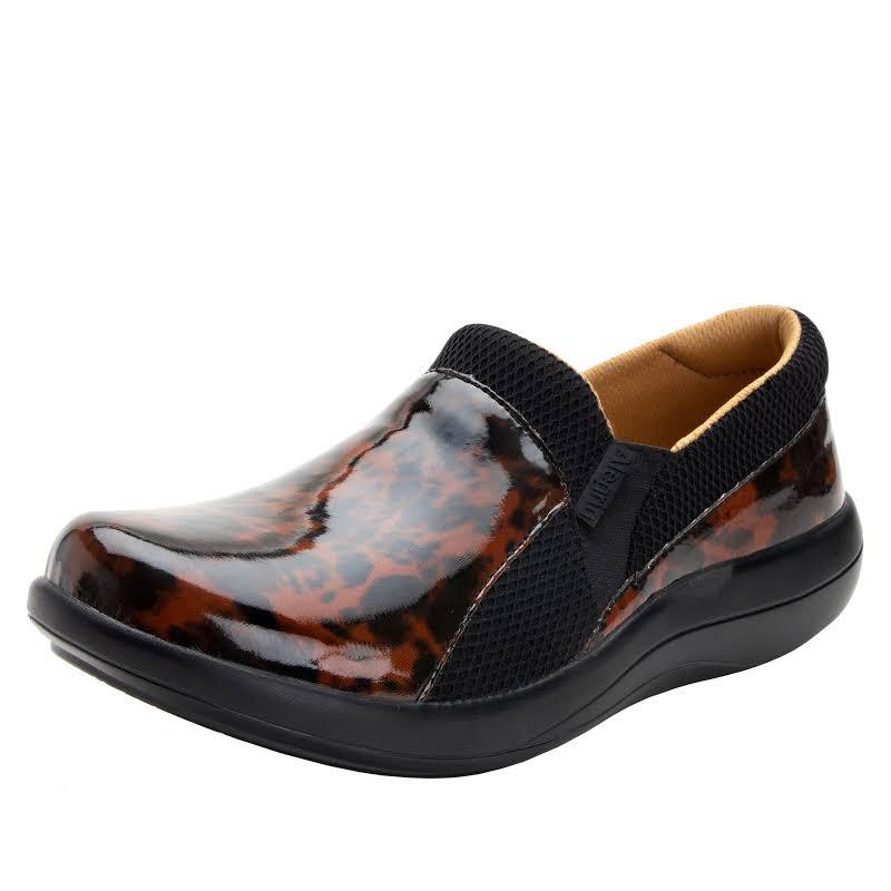 Alegria Duette Slip On Shoe 7-7.5 US in Tortoise