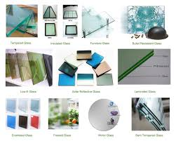 tempered glass horizontal pivoting sliding window blinds with low